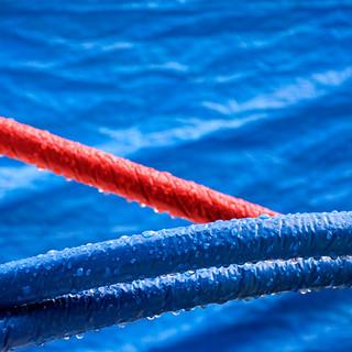 Blu & red