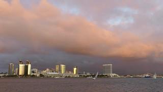 Dramatic San Diego Skies