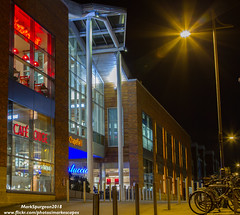 """Chapelfield 1 ~ (markescapes) Tags: norfolk uk ©markspurgeon2018 markescapes wwwflickrcomphotosmarkescapes markspurgeon """"through the lens workshops"""" throughthelensworkshops norwich city photowalk night tripod canon7d photoshopelements workshop chapelfield caferouge intu pizzahut bicycle carluccio streetlight shopping retail mall"""