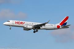 F-HBLA - 2006 build Embraer 190-100LR, on approach to Runway 25L at Frankfurt (egcc) Tags: 190100lr 19000051 a5 eddf emb190 embraer embraer190 fhbla fra frankfurt hop hopforairfrance lightroom main rheinmain