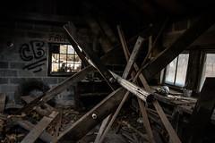 Centralia 58 (Rebecca Tarlo Photography) Tags: abandoned centraliapa ghosttown pennsylvania centraliapennsylvania centralia graffiti window old oldhouse shed