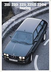 BMW 3-Serie Touring brochure 1989 (sjoerd.wijsman) Tags: carbrochure brochure autobrochure prospekt folleto car cars auto voiture fahrzeug brochura opuscolo broschyr vehicle bmw3series bmw3serie bmw 3series 3serie 1989