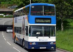 14232 K132 DAO (Cumberland Patriot) Tags: stagecoach cms cumberland motor services north west england cumbria carlisle leyland olympian on2r50g13z4 alexander rl ch4327f 1032 14232 k132dao step entrance double deck decker bus buses omnibus