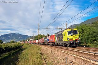 TXL 193.556 Treno da: Wanne-eickel a Verona Q.E./ Mattarello (TN) 20 Settembre 2017