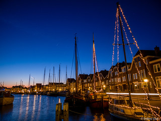 Blue hour in Hoorn