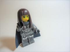 "Nightshade w/o Face Mask (Nick ""Nightstalker"") Tags: afol brickwarriors saberscorpion brickforge lego brickarms"