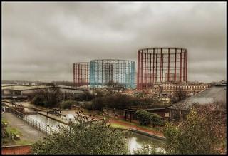 The Birmingham & Fazeley canal