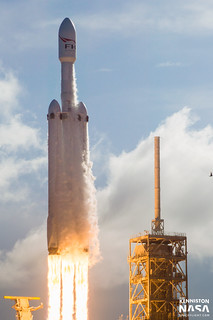 SpaceX - First Launch of Falcon Heavy