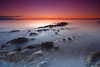 Stepping Stones out to the Horizon (PeterYoung1.) Tags: atmospheric beautiful colours highlights landscape nature ocean peteryoung1 rocks seascape scenic scotland sea sunset scottish uk water