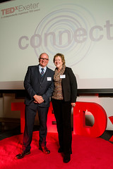 Phil Godfrey from Devon & Cornwall Police & Donna Godfrey at the TEDxExeter 2018 launch event at Royal Albert Memorial Museum (TEDxExeter) Tags: exeter tedxexeter tedx tedtalks exetercity devon ramm royalalbertmemorialmuseum technology entertainment design innovation speakers audience tedxexeter2018 tedxexeter2018launch tedxexeterlaunch sponsors crowd 2018 england eng