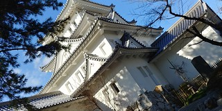 Castle of the city of water Ogaki castle