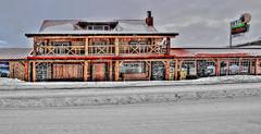 Madison_Hotel--mMmb (Guyser1) Tags: building hotel madisonhotel westyellowstone historicbuilding winter hdr nikond3200 signs