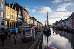 Nyhavn-7727 (toniertl) Tags: copenhagen2017 denmark toniphotoxoncouk nyhavn colour harbour boat cafe restaurant reflections december winter lowsun dock