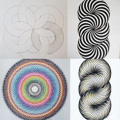 collage2017354_ (regolo54) Tags: torus toroid geometry symmetry mathart regolo54 disk circle handmade