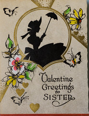 Valentine from the past (charlottes flowers) Tags: valentine vintage card