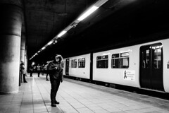 Journey back (matt1305811) Tags: fuji fujix100t x100t fujinon fujifilm manchester train station victoria