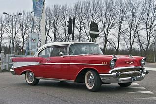 Chevrolet Bel Air Sport Coupé 1957 (2575)