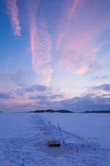 Winter fishing (Antti Tassberg) Tags: talvi 24mmts kalastus landscape espoo suomi jää 24mm finland fishing ice lens prime scandinavia tiltshift winter uusimaa fi