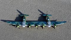 Cobi_Heinkel_He-111_Z-1_Zwilling_MOC_05 (El Caracho) Tags: cobi small army building blocks ww2 warplane plane bomber heinkel he111 zwilling moc