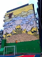 NYC - East Village: GVM010 by Jerkface (wallyg) Tags: greenvillain gvm jerkface gvm010 streetart mural charliebrown peanuts graffiti nyc ny newyorkcity newyork manhattan eastvillage