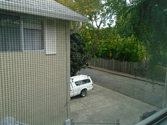 DSC02185 (classroomcamera) Tags: home house bedroom window multistory building truck parked concrete