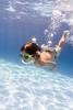 Swimmer (Sapient Iguana) Tags: green bubbles swim swimming swimmer pool swimmingpool summer piscina underwater