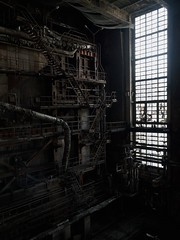 Power plant (LopazV) Tags: urbex urbanexploration abandoned dark powerplant exploration decay heavy heatingplant urban