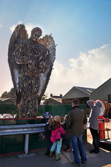 The Angel of Knives (PentlandPirate of the North) Tags: britishironwork shropshire oswestry angelofknives ~flickrinnes flickrinnes