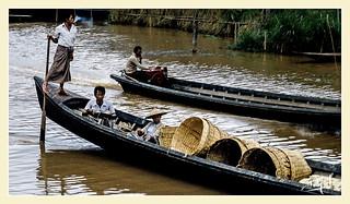 Lac / Lake Inle - Birmanie / Burma (1987)