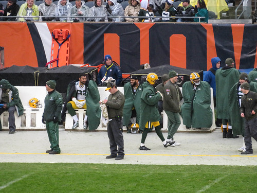 bears vs greenbay. november 2017