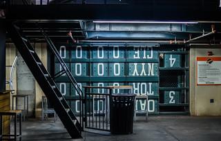 off season, outfield scoreboard