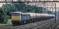 81020 South Kenton (jbg06003) Tags: class81 wcml ac brblue freight tanks