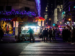 crossing the street (Web-Betty) Tags: ny nyc newyork newyorkcity manhattan timessquare night city street urban streetphotography