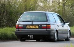 G877 VYF (Nivek.Old.Gold) Tags: 1990 volkswagen passat cl estate 1781cc