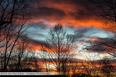 Sunset with clouds and sky in the winter on the ridge (John P Sullivan) Tags: athens nikon winter d800 dslr 45701 kneebeau ohio clouds johnpsullivan johnpaulsullivan phillipslane sky dusk landscape trees sunset unitedstates usa
