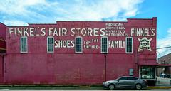 Finkel's Fair Stores Mural (Brandon Westerman WNP) Tags: finkels fair stores mural paducah kentucky