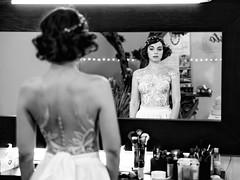 The Cinema Show (drugodragodiego) Tags: chiara portrait mirror specchio ritratto blackandwhite blackwhite bw biancoenero pentax pentaxk1 k1 pentaxdfa2470mmf28 hdpentaxdfa2470mmf28edsdmwr