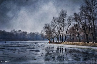 On the River in Winter