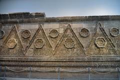 Facade of Qasr Mshatta, Umayyad, 8th cent.; Pergamon Museum, Berlin (8) (Prof. Mortel) Tags: germany berlin pergamonmuseum islamic umayyad mshatta