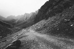Any way you take I'll be there (RuiFAFerreira) Tags: light landscape beauty bw black wide white fog mood mountains rocks fuentedé picos picosdeeuropa national park spain asturias canon efs1018mmf4556isstm exterior blackwhite nature