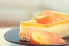 Simple pleasures (victoriameyo) Tags: simplepleasures flickrfridays tasty orange still life dessert sweet taste pie