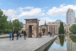 Templo de Debod, un pedazo de Egipto en Madrid