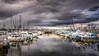 Storm'sa Coming (www.kjc.photos) Tags: ballard fishermansterminal storm clouds boats ships seattle washington