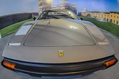 Horse Ferrari Power (gutipictures) Tags: nikon nikondf ferrari car auto automovil museum santa cruz chile indoor fisheye ojodepez lens camera cámara dslr horse