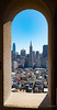 san_francisco_coit_tower-1020451 (Tony Rowlett) Tags: transamericatower coittower sanfrancisco architecture