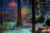 GOODBYE WINTER. (Viktor Manuel 990.) Tags: herb forest woods winter invierno digitalart artedigital moon luna sky cielo night noche querétaro méxico victormanuelgómezg wolf lobo
