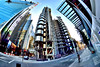 Lloyd's of London (Geoff Henson) Tags: lloyds building skyscraper steel fisheye london wideangle