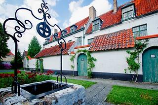 Hofje in Kortrijk