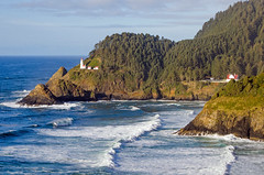 Unobstructed View (Tom Fenske Photography) Tags: lighthouse hecetahead oregon coast ocean sea