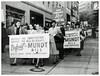 Hit Democrats for support of Mundt bill: 1948 (washington_area_spark) Tags: mundt nixon bill anti communist registration revoke passports bar from government protest demonstration rally picket white house washington dc 1948 party subversive mccarren act committee for democratic rights